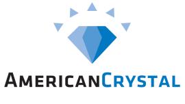 American Crystal Logo